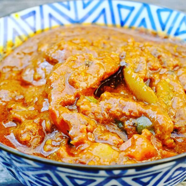 lamb and pepper curry