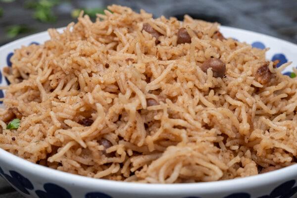 Chickpea Pilau Rice