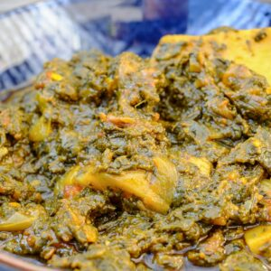 saag aloo curry