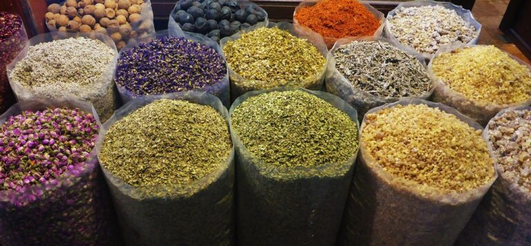 spices, colorful, color